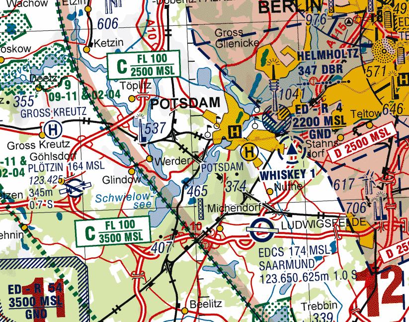 Flugkarten Deutschland